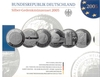 German silver commemorative set 2005 proof