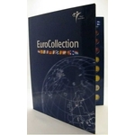 Royal Dutch Mint coin album EuroCollection for 12 countries or years