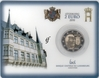 2 Euro Coincard Luxembourg 2010 Arms of the Grand Duke