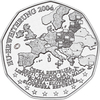 Austria 5 Euro CC 2004 EU Enlargement