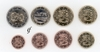Finland all 8 coins 2010