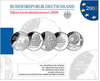 German silver commemorative set 2008 proof