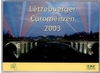Luxemburg original KMS 2003 Postausgabe