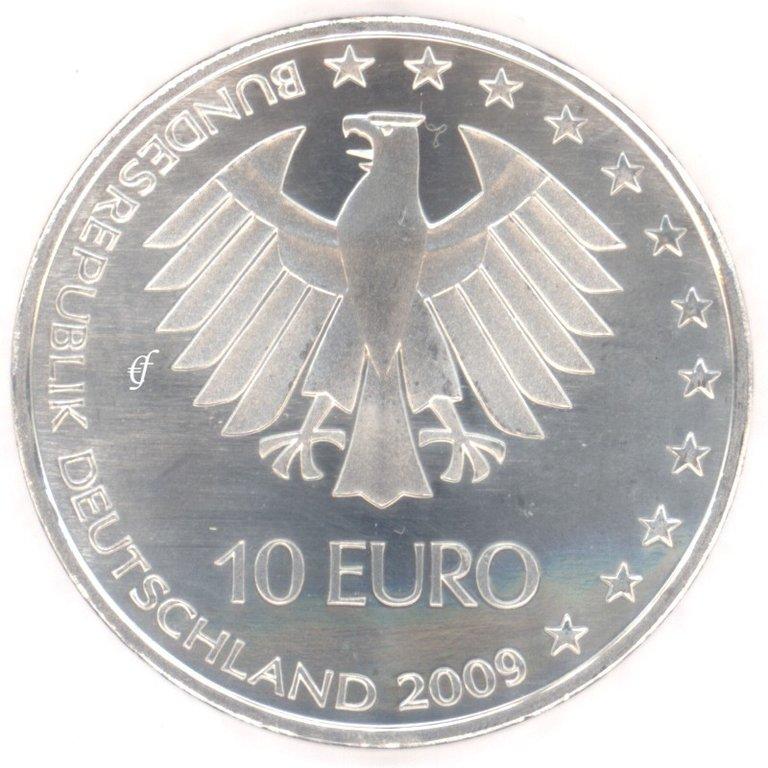 Deutschland 10 Euro 2009 Bfr Leichtathletik A Eurofischer