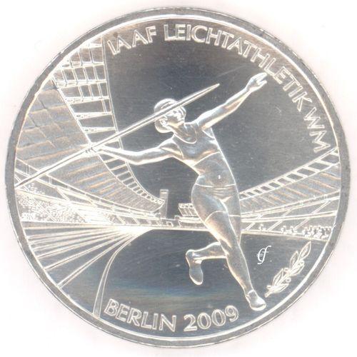 Deutschland 10 Euro 2009 Bfr Leichtathletik J Eurofischer