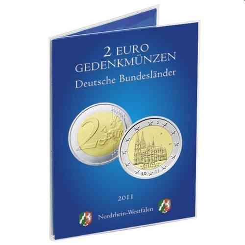 Münzkarte Für Deutsche 2 Euro Gedenkmünze 2011 Nordrhein Westfalen