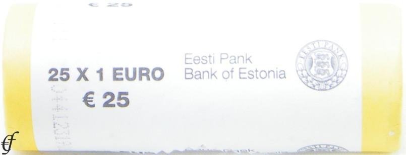 estland rolle 1 euro 2011 ebay. Black Bedroom Furniture Sets. Home Design Ideas