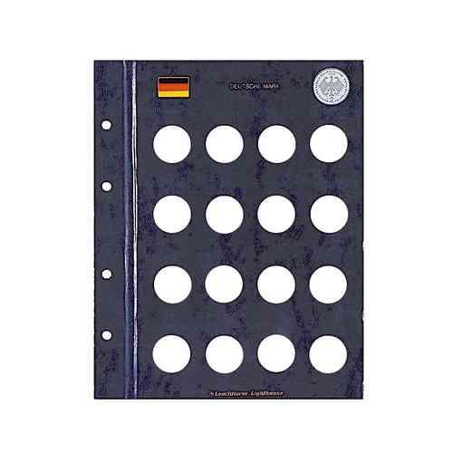 Münzblätter Vista Für 2 Dm Münzen Eurofischer