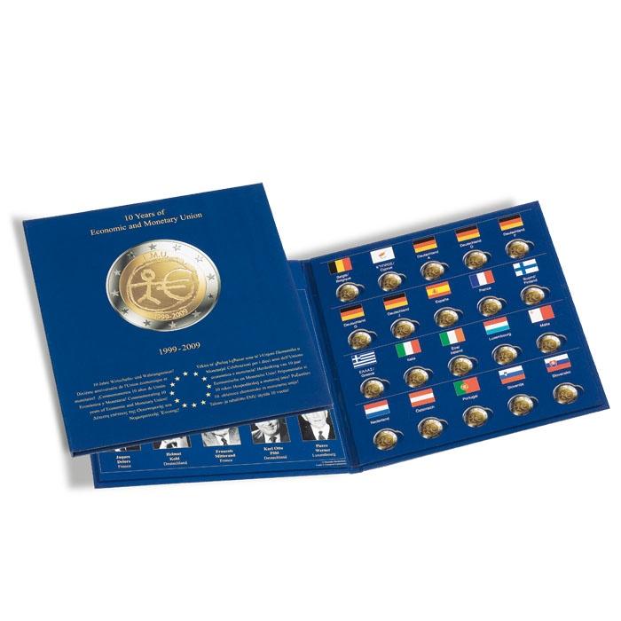 Münzalbum Presso Euro Collection Für 2 Euro Münzen 10 Jahre Wwu
