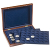 Presentation Case VOLTERRA TRIO, each for 30 coins in capsules up to 38 mm Ø