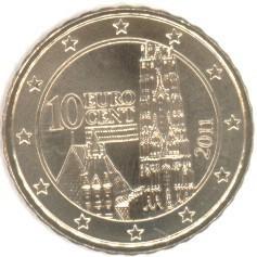 österreich 10 Cent 2011 Eurofischer