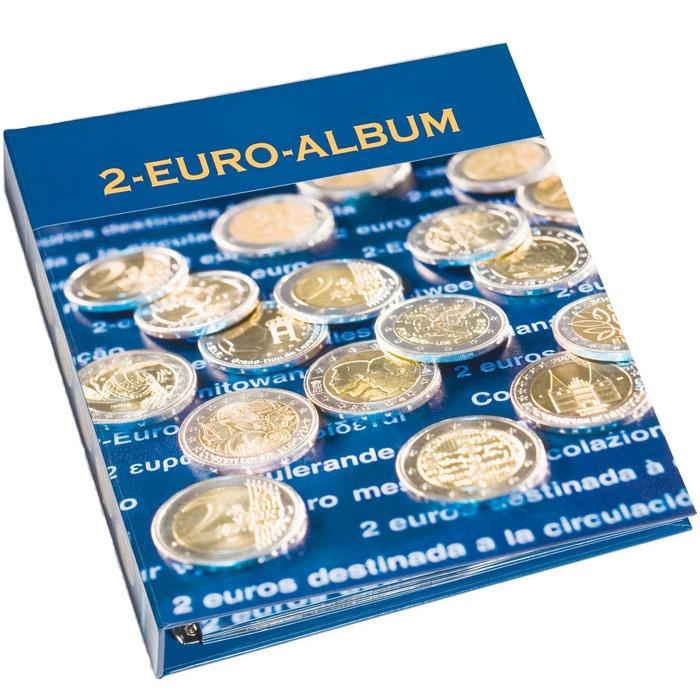 Альбом 2 евро боксы прозрачные для хранения