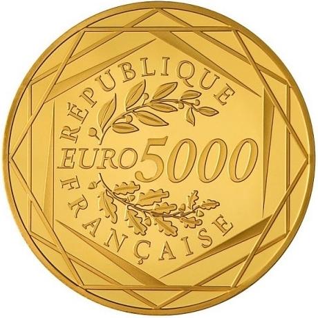 Frankreich 5000 Euro Gold 2012 Hercules Eurofischer