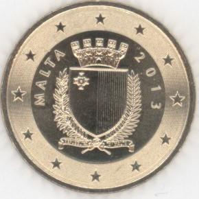 Malta 50 Cent 2013 Eurofischer