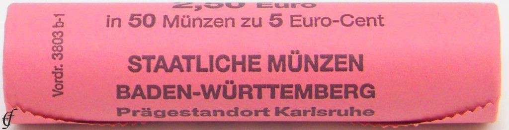 Deutschland Rolle 5 Cent 2014 G Karlsruhe Ebay