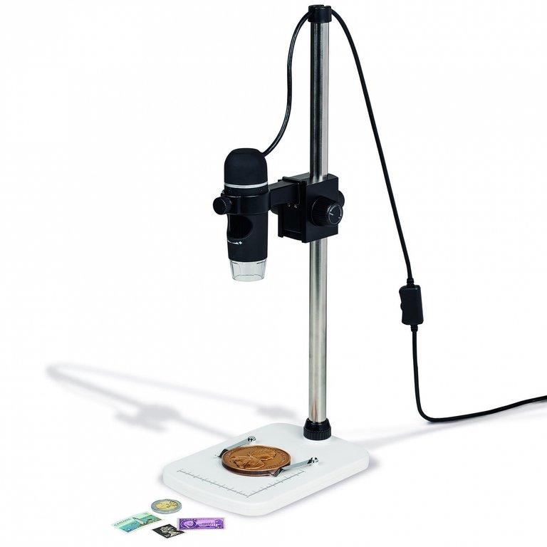 usb digitalmicroscope dm 4 incl stand  eurofischer