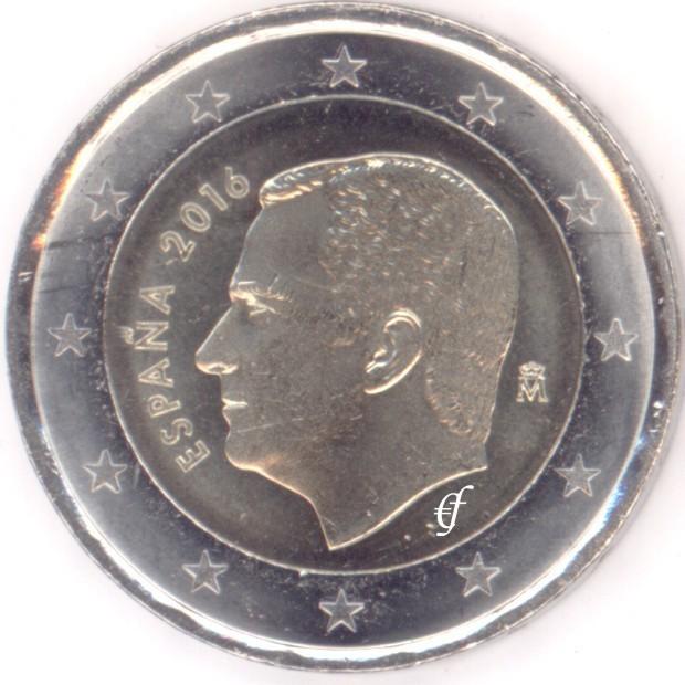 10 X Spanien Alle 8 Münzen 2016 Eurofischer