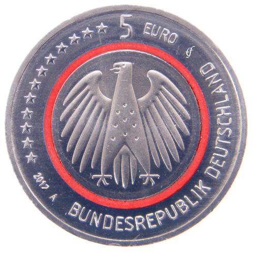 Reservierung Alle 5 Gedenkmünzen Deutschland 5 Euro 2017 Tropische