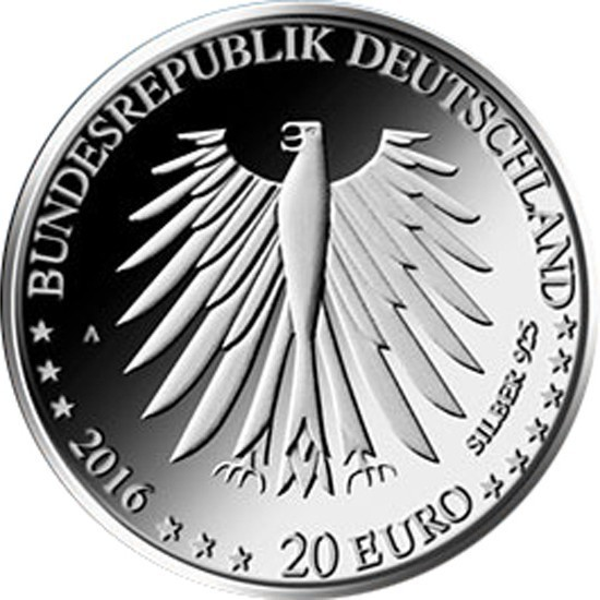 ABO 20€ CC Germany 2017 Proof