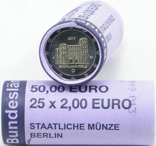 Roll 2 Euro Cc Germany 2017 Porta Nigra Eurofischer