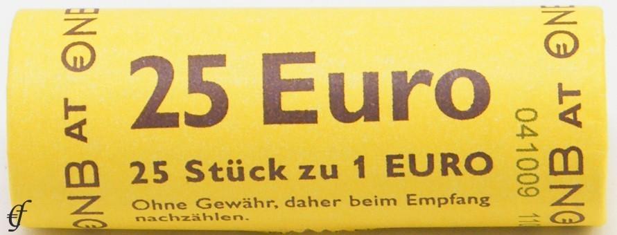 sterreich rolle 1 euro 2017 eurofischer. Black Bedroom Furniture Sets. Home Design Ideas