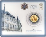 2 Euro Coincard Luxemburg 2017 Guillaume III