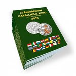 Euro Catalogue for coins and banknotes 2018 in English