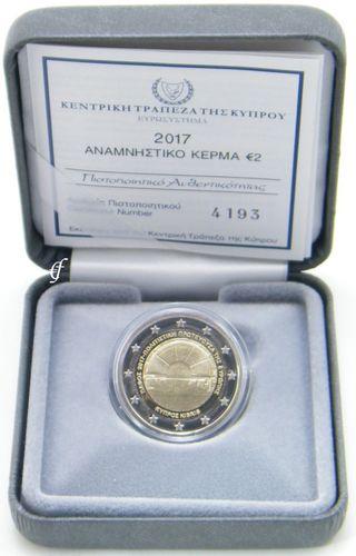 2 Euro Gedenkmünze Zypern 2017 Paphos Pp Eurofischer