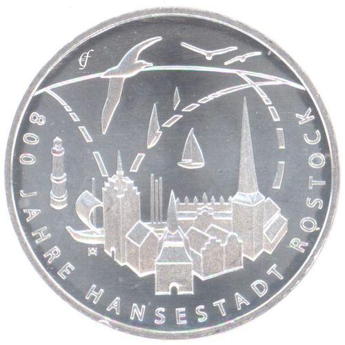 Deutschland 20 Euro 2018 Bfr Hansestadt Rostock Eurofischer