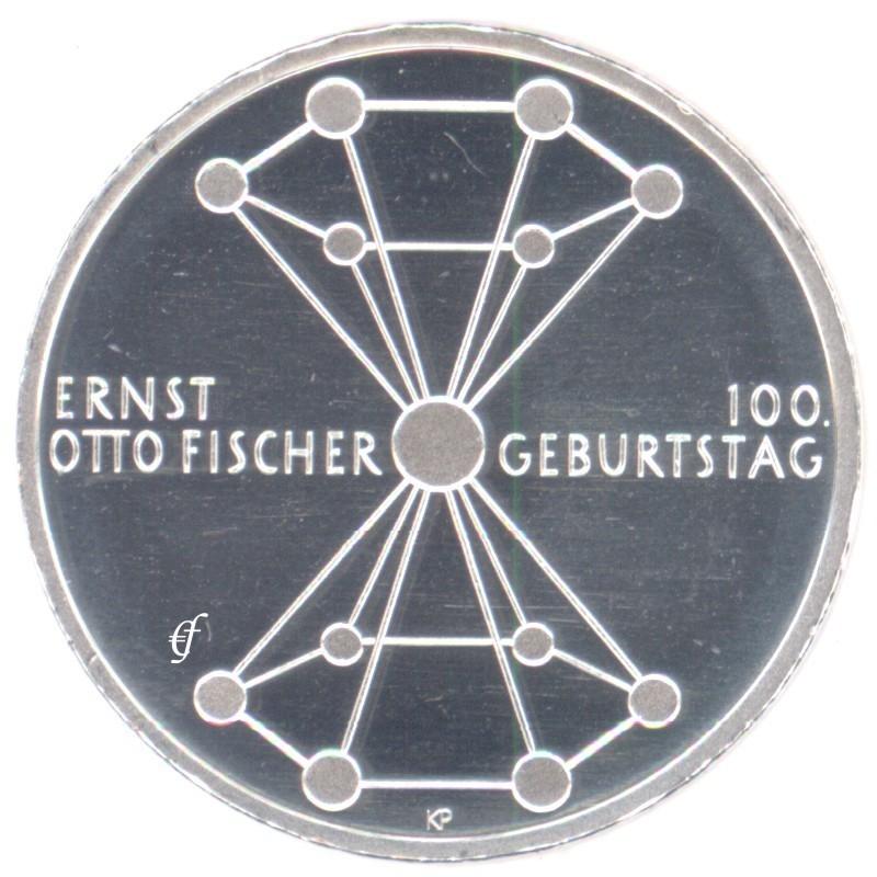 Deutschland 20 Euro 2018 Bfr Ernst Otto Fischer Eurofischer