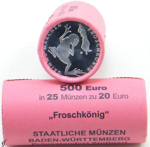 Rolle Deutschland 20 Euro 2018 Bfr Froschkönig Eurofischer
