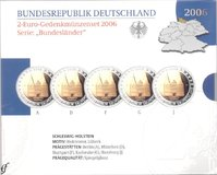 2€ Commemorative sets Proof