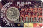 Belgien 2,50 Euro 2018 Rote Teufel in Coincard