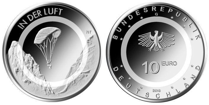 Reservierung Alle 5 Gedenkmünzen Deutschland 10 Euro 2019 In Der