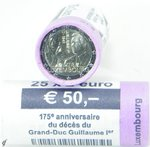 Roll 2 Euro CC Luxembourg  2018 Guillaume I