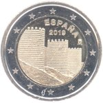 Spain 2 Euro CC 2019 The old Town of Avila