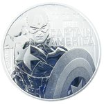 Silber Tuvalu Captain America Marvel 1oz 2019