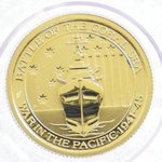 Gold Battle of the Coral Sea 1/10oz 2015